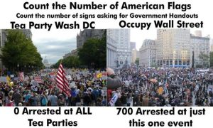tea party vs occupy